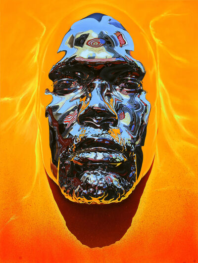 Kip Omolade, 'Luxury Graffiti Self-Portrait (COVID-19)', 2020