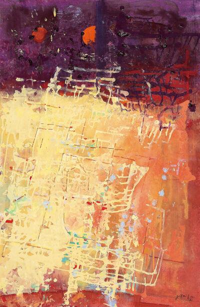 Yi Kai, 'Sunset In Circuit World 日落時的線狀世界', 2015