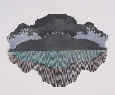 Danielle Rante, 'Ash Strata: Glacial Lagoon', 2013