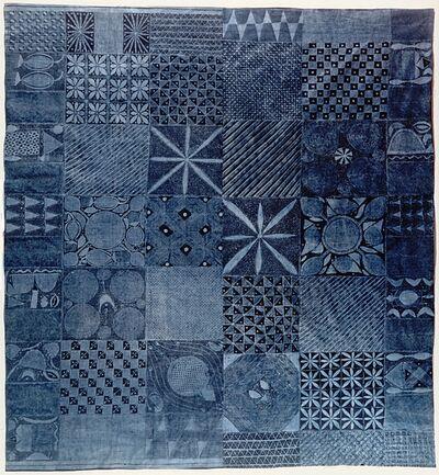 "Unknown Artist, 'Adire Eleko (""resist pasted on"")', 20th Century"