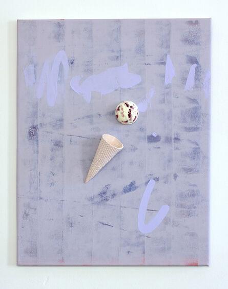 soshiro matsubara, 'Floatingice cream(Raspberry Milk)', 2014