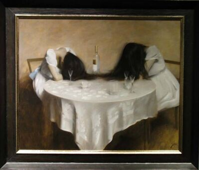 """Nick Alm, '""""Drinking Sisters"""" ', 2014"""