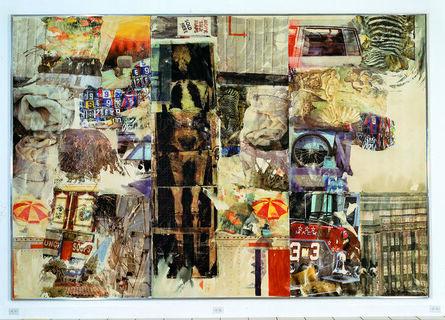Robert Rauschenberg, 'Mirthday Man [Anagram (A Pun)]', 1997