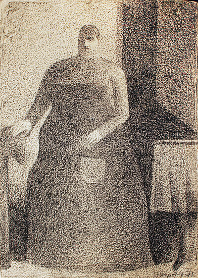 Harold Town, 'Cook Lady', 1971