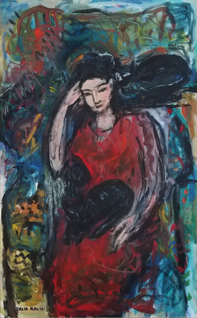 Dalia Raviv, 'Cat Lady', 2011