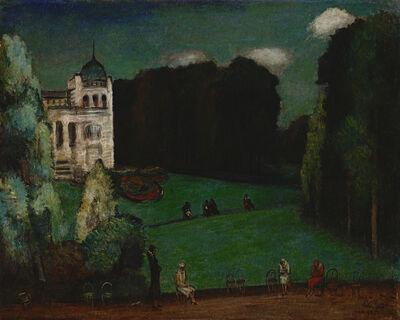 Yen Shui-Long 顏水龍, 'Montsouris Park', 1931