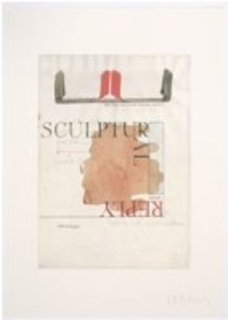 Franz Erhard Walther, 'Sculptural Reply'