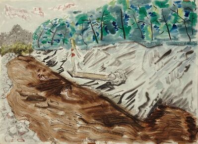 Milton Avery, 'The Swimming Hole', 1943