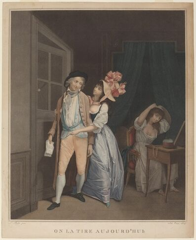 Salvatore Tresca after Louis-Léopold Boilly, 'It was pulled today (On la tire aujourd'hui)'