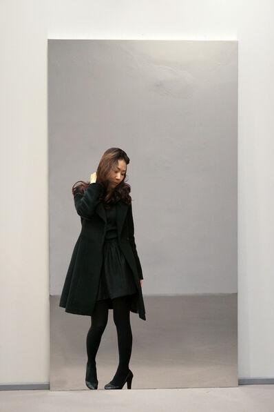 Michelangelo Pistoletto, 'Partitura in nero - F', 2010-2012
