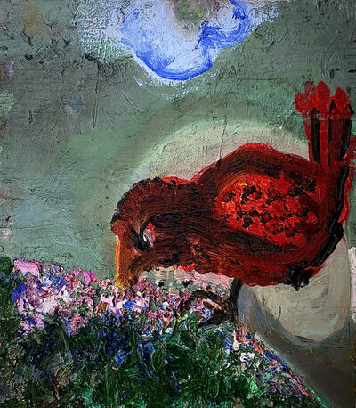 Mary DeVincentis, 'Bird on a Hill', 2020