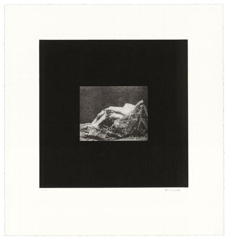 David Lynch, 'Distorted Nude Photogravure #12', 2021