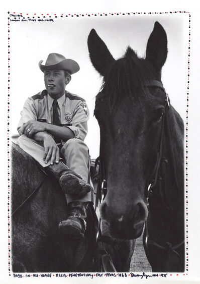 Danny Lyon, 'Boss on his Horse, Ellis Penitentiary, East Texas, from Conversations with the Dead', 1968