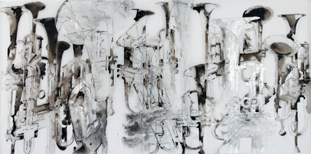 Katina Huston, 'Channeling Gorky', ca. 2014