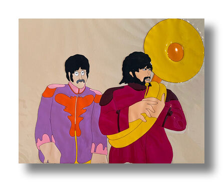 """George Dunning, 'Beatles """"Yellow Submarine"""" Four Original 16-Field Production Cels', 1968"""