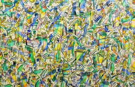 Antonio Seguí, 'Color de barrio', 1986