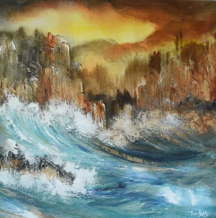 Jackie Arditty, 'Waves and Barriers', 2015