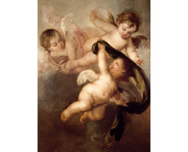 Bartolomé Esteban Murillo, 'Three Angels', 1670