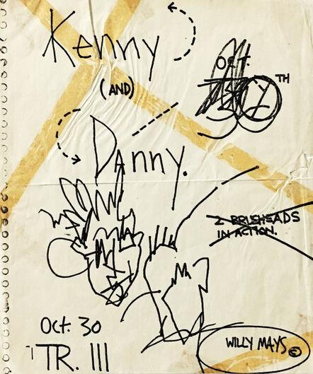 Jean-Michel Basquiat, 'Basquiat Danny Rosen Tier 3 ', ca. 1980