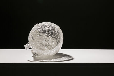 Justin Ginsberg, 'CATCHING GLASS FORMED BY WATER #1', 2016