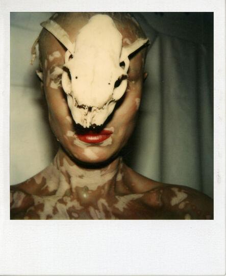 Birgit Jürgenssen, 'Ohne Titel (Selbst mit Schädel) / Untitled (Self with Skull)', 1979