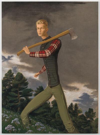 Jansson Stegner, 'Lumberjack', 2018