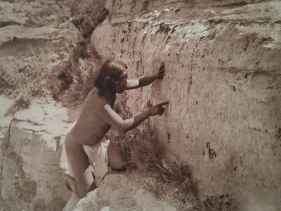 Edward Sheriff Curtis, 'Counting the Record, pl. 413', 1921