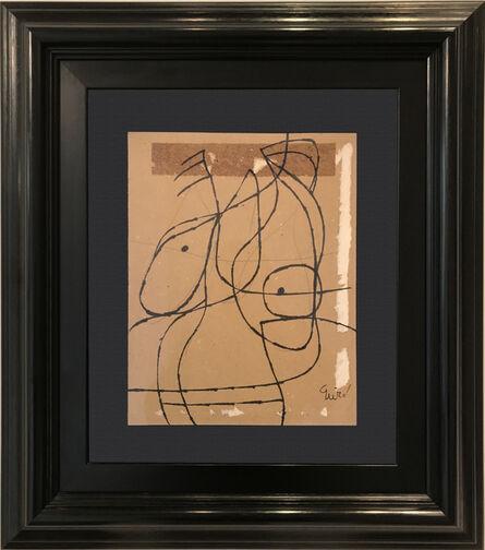 Joan Miró, 'Tête', 1975