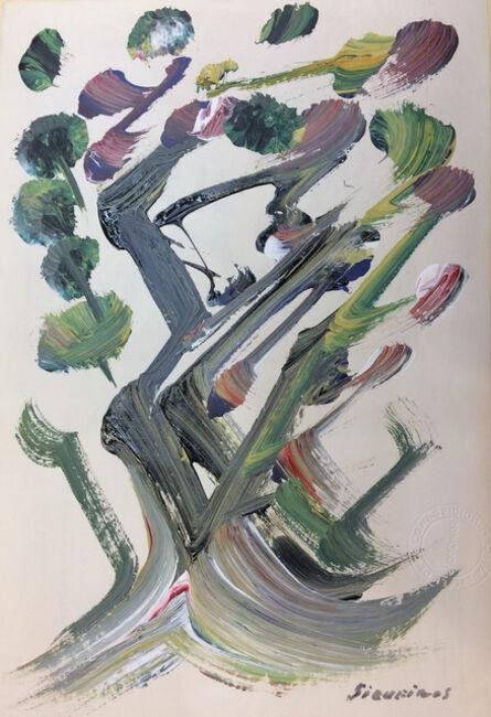 David Alfaro Siqueiros, 'Tree'