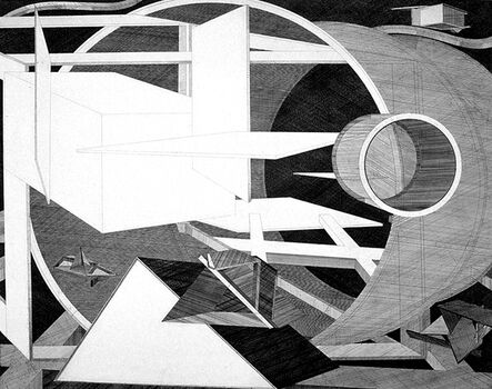Al Held, 'Straits of Magellan', 1986