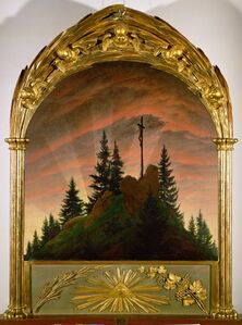 Caspar David Friedrich, 'The Cross in the Mountains', 1807-1808