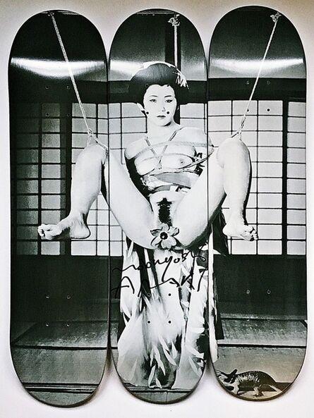 Nobuyoshi Araki, 'Geisha (Hand Signed and Numbered)', 2014