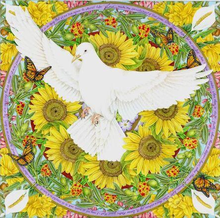Mary Lee Eggart, 'Circles of Prayer: Prayer for Peace', 2016