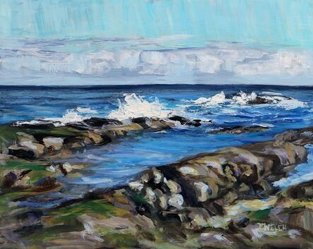 Terrill Welch, 'A Swish of Sea', 2021