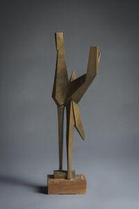 Pietro Consagra, 'Plastico in bronzo', 1952