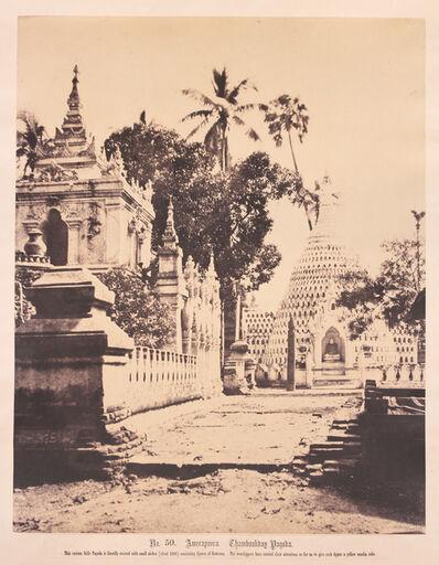Linnaeus Tripe, 'Thamboukday Pagoda, Amerapoora, Burma.', 1855