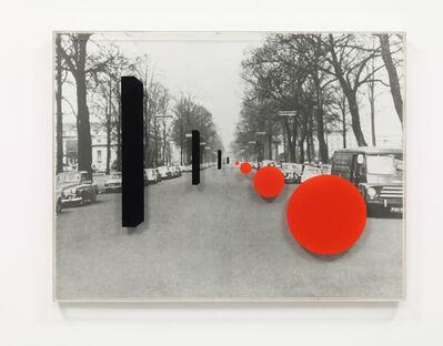 Derek Boshier, 'King George V Avenue Cardiff', 1970