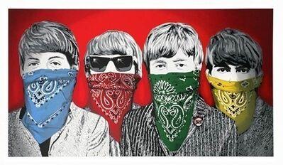 Mr. Brainwash, 'Beatles Bandidos', 2012