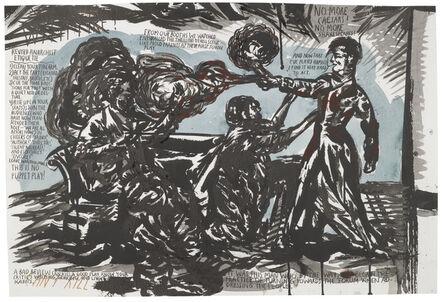 Raymond Pettibon, 'Untitled (Revised Anarchist Etiquette)', 2001