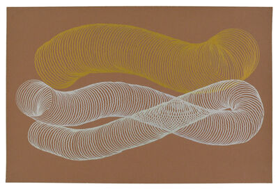 Jessica Deane Rosner, 'Copper (Brownish) Color Aid with Gold and Silver Slinkies', 2011