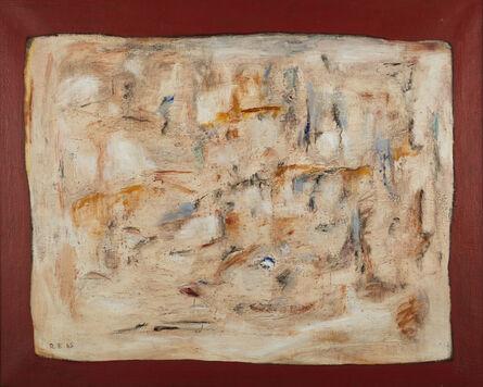 Ruth Eckstein, 'Tablet', 1965
