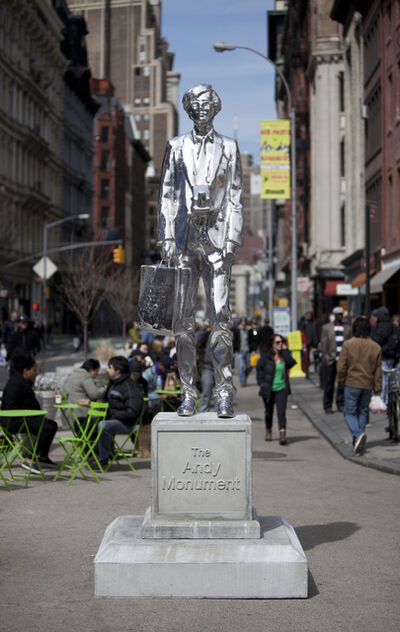Rob Pruitt, 'The Andy Monument'