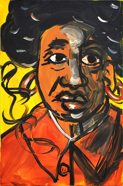 Jeffrey Spencer Hargrave, 'Afro Mao ', 2018