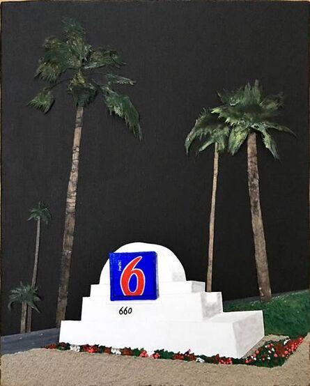 Taro Takeishi, 'Motel 6 Palm Springs', 2017