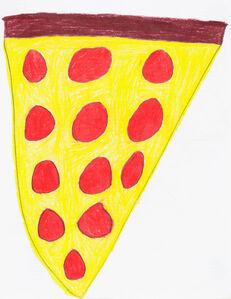 Jesus Huezo, 'Pizza', 2015