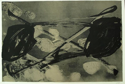Antoni Tàpies, '2. Empreinte Barrée 1', 1984