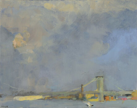 Laura Adler, 'East River with Strong Light after Rains', 2013