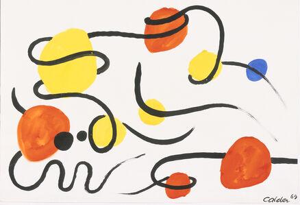 Alexander Calder, 'Points et Volutes', 1969