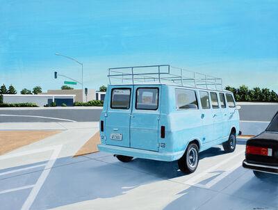 Gabe Fernandez, 'Blue Van', 2020
