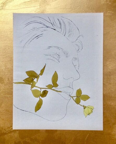 Andy Warhol, 'A GOLD BOOK, IV,108', 1957